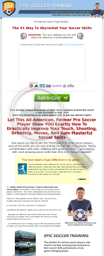 Epic Soccer Training - Improve Soccer Skills preview. Click for more details