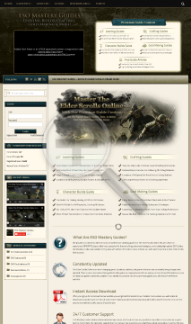 Eso Mastery Guides - The #1 Elder Scrolls Online Guide preview. Click for more details