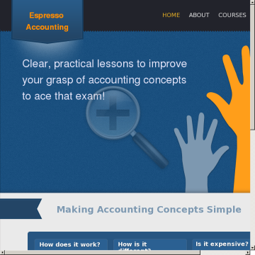 Espresso Accounting preview. Click for more details