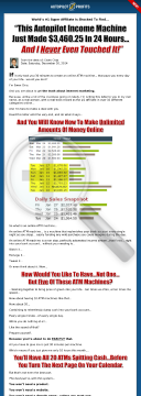 Ewen Chia's Autopilot Profits 2014 - Your Online Atm Machine! preview. Click for more details