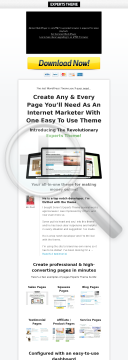 Experts Theme: A New Revolutionary Internet Marketing WordPress Theme! preview. Click for more details