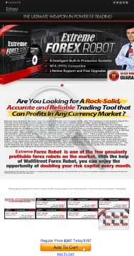 Extreme Forex Robot preview. Click for more details