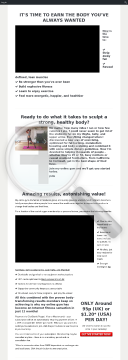 Extreme Inferno Online Fitness Gym By Julia Buckley preview. Click for more details
