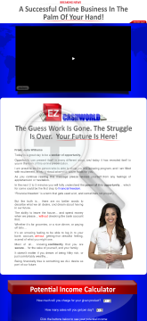 Ez Cash World - A Successful Business In The Palm Of Your Hand! preview. Click for more details
