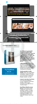 Facephone - Zoom-like Video Conferencing Service - Huge Commissions! preview. Click for more details
