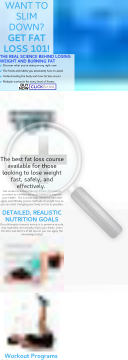 Fat Loss 101 preview. Click for more details