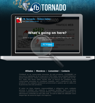 Fb Tornado - Maximas Conversiones preview. Click for more details