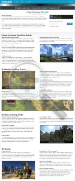 Final Fantasy 14 Mastery Guide - Strifeable Xiv preview. Click for more details