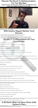 Find Investors For Your Business - $72+ Per Sale - Huge Conversions! preview. Click for more details