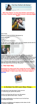 Find Your Perfect Life Partner. preview. Click for more details