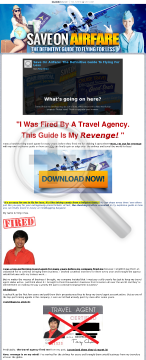 Fired Travel Agent Wants Revenge! Here's The Secret To Cheap Flights. preview. Click for more details