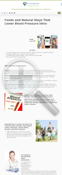 Foods And Natural Ways That Lower Blood Pressure preview. Click for more details