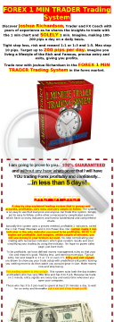 Forex 1 Min Trader Trading System preview. Click for more details