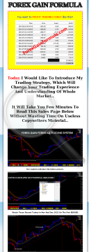 Forex Gain Formula preview. Click for more details