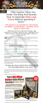 Free Cash Generator preview. Click for more details