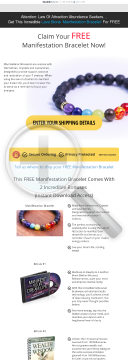 Free Manifestation Bracelet - Massive 60% Commission preview. Click for more details