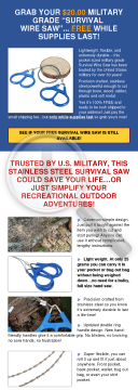 Free Survival Saw: High Conversions For Survival & Outdoors Traffic preview. Click for more details