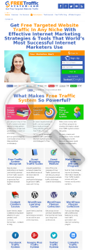 Free Traffic System - Targeted Traffic For Any Niche preview. Click for more details