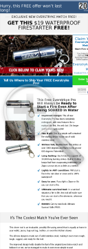 Free Waterproof Lighter Converts 13.66 Percent preview. Click for more details