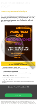 Freelance Proofreading Job Guide - Hot Product preview. Click for more details