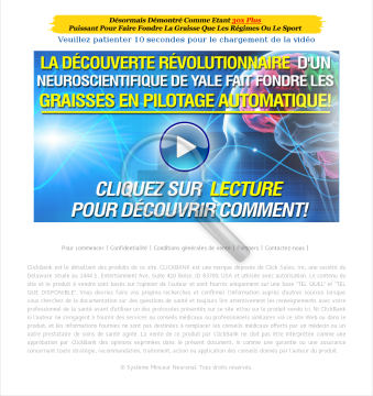 French Neuro Slimmer - Système Minceur Neuronal - Hot Weight Loss preview. Click for more details
