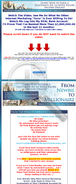 From Newbie To Millionaire preview. Click for more details