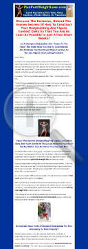 Fun Fast Weight Loss preview. Click for more details