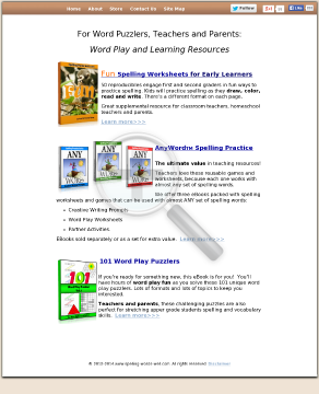 Fun Spelling Practice And Word Play Puzzlers preview. Click for more details