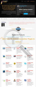 Generation Plugin By Sam Zadworny preview. Click for more details