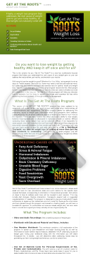 Get At The Roots 12-week Weight Loss Program preview. Click for more details