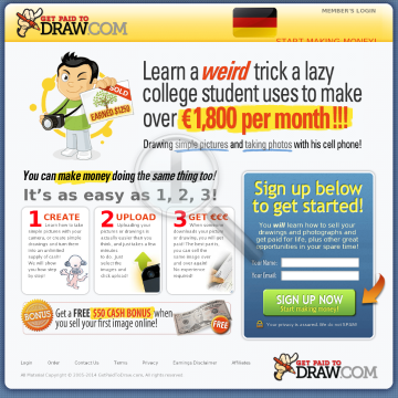 Get Paid To Draw: $75 To New Affiliates! preview. Click for more details