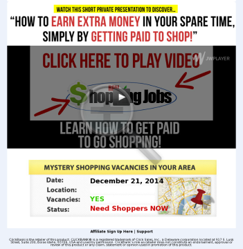 Get Paid To Shop? Awesome Product + Insane Epcs! preview. Click for more details