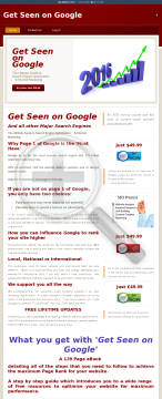 Get Seen On Google. Ultimate SEO Guide preview. Click for more details