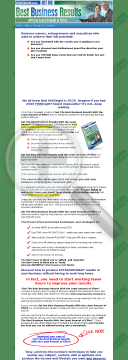 Get The Best Business Results With The Least Amount Of Effort preview. Click for more details