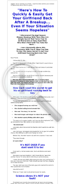 Girl Back System (get Your Ex Girlfriend Back preview. Click for more details