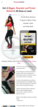 Glute Factory - 2018 Super Traffic Converter preview. Click for more details