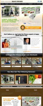 Golf Fitness: Shed Pounds To Shave Strokes preview. Click for more details