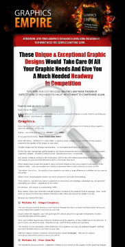 Graphics Empire - Boosts Your Conversions And Sales preview. Click for more details