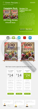 Greenrecipes: Veggie + Vegan & Bonus Recipes - 3 Top Converting Offers preview. Click for more details