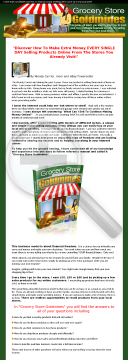 Grocery Store Goldmines preview. Click for more details