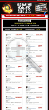 Guaranteed Sales Solo Ads - Get 4000+ Clicks - Sales Guaranteed! preview. Click for more details