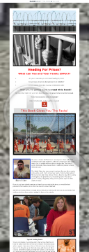 Heading For Prison? What Can You And Your Family Expect? preview. Click for more details