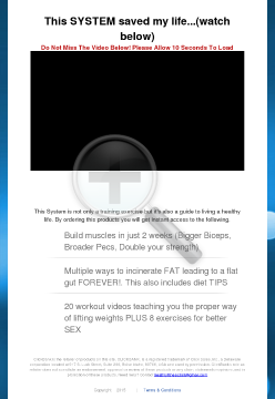 Healthy Fitness 360 - Fitness Exercise Weight Loss System preview. Click for more details