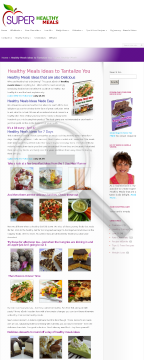 Healthy Meals Ideas - 7 Day Meal Planner preview. Click for more details