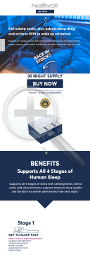 Healthycell - Supplements By World-renowned Cell Health Doctor preview. Click for more details