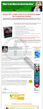 Highly Acclaimed Depression Ebook Converts Strongly! preview. Click for more details