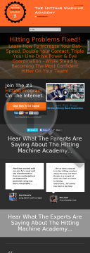 Hitting Machine Academy- Hot Product! preview. Click for more details