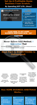 Home Business Arbitrage - Upto $98.75 Per Sale preview. Click for more details