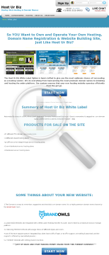 Hosturbiz White Label, Own Your Own Hosting Website! preview. Click for more details