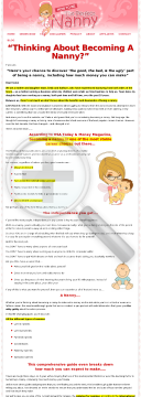 How To Be The Perfect Nanny preview. Click for more details